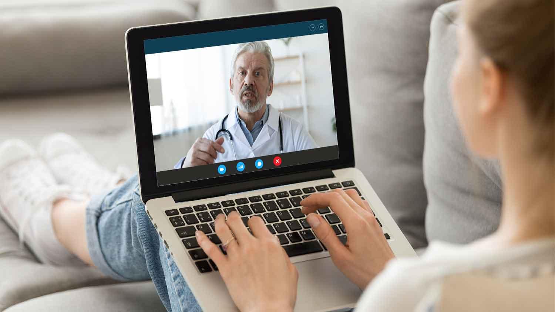 Online-Sprechstunden technisch sichern